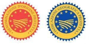 Selezione prodotti con denominazione d'origine protetta