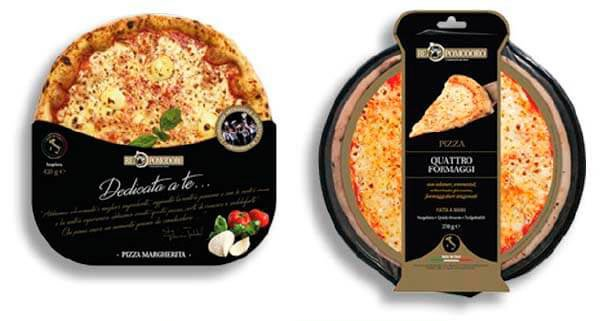 La pizza surgelata come appena sfornata