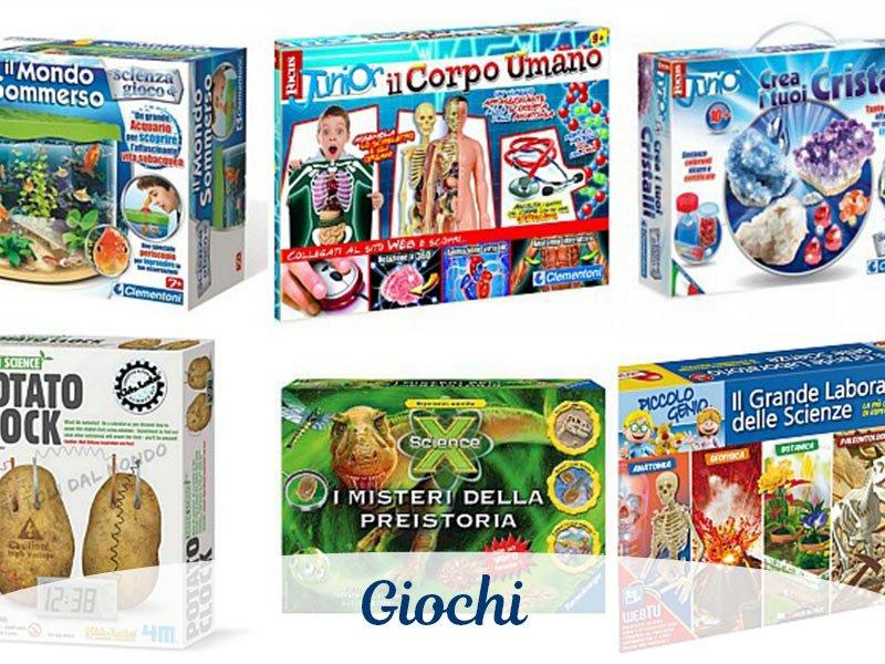 Ampia scelta di giochi per il tuo bambino