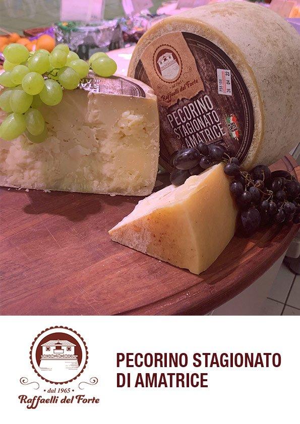 formaggio stagionato amatrice